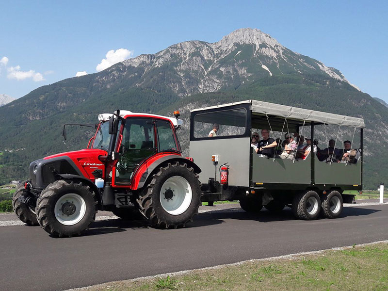 Traktor Fahrt