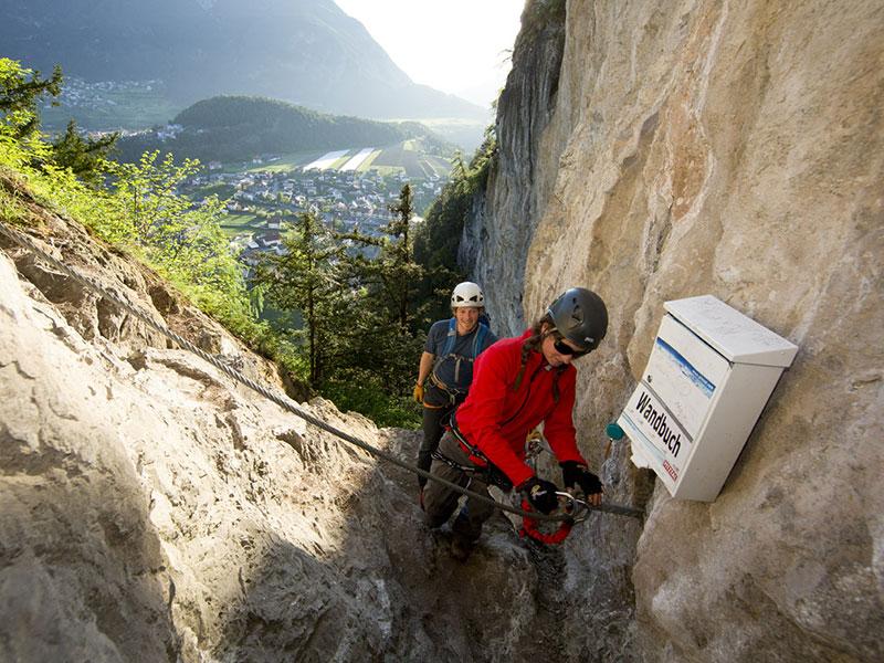 Kletterwand Arzl i. Pitztal