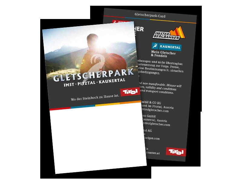 Muster - Gletscherpark Card